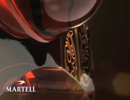 Martell cognac advertising